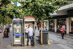 Urban Repurposing (rowjimmy76) Tags: street city uk travel people urban man male drunk booth scotland europe phone candid urinate peeing glascow canonef50mmf14usm 5dm2 5dmii