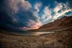 DEAD SEA (Oren.Jacobson.Photography) Tags: sunset sea sky art nature clouds landscape dead israel nikon desert sigma 15 d750 28 mm 15mm f28 424