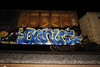 Donut (Revise_D) Tags: graffiti tags donut graff tagging revised trainart cik bsgk ehc benching benchingsteelgiants