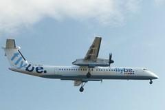 G-JECX approaching Southampton - 29 November 2014 (John Oram) Tags: southampton sou dash8 flybe dash8400 dhc8400 dh8d eghi gjecx 2002p1020007c