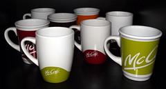McCafe cups (vegeta25) Tags: cup fuji mug jar fujifilm mccafe myfuji s3200 114picturesin2014