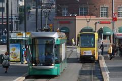Helsinki (Neil Pulling) Tags: finland helsinki europe dof tram baltic helsingfors finnish ostsee tramway hakaniemi bombardier shallowdepthoffield hsl variobahn hagns helsinkitram