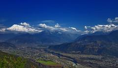 Annapurna Range Yet Again (Subir Thapa) Tags: nepal mountain nature beautiful landscape amazing asia nepali mountainrange machhapuchre naturallynepal