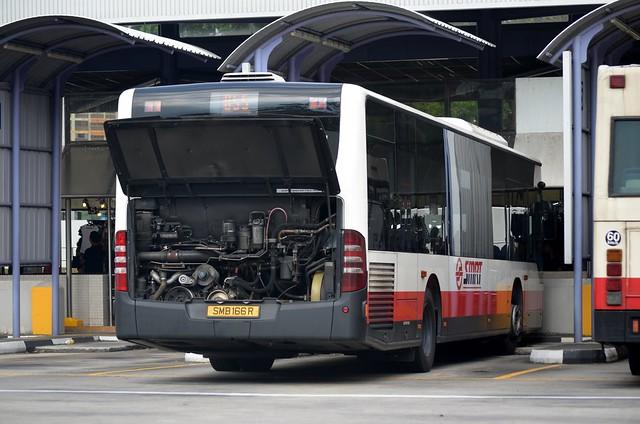 SMRT Buses Mercedes-Benz O530 Citaro EvoBus