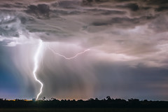 Rain Fall Down (emiliokuffer) Tags: storm rain night lluvia nikon tormenta campo lightning rayo lightningstorm tormentaelectrica