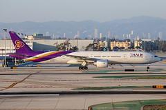 Thai Airways Boeing 777-3AL/ER HS-TKK (Mark Harris photography) Tags: california canon aircraft planes boeing lax 777 spotting 77w