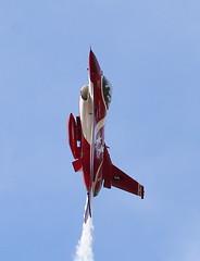 "RSAF F-16 ""Black Knights"" (CanvasWings) Tags: aircraft airplanes aeroplane airshow f16 avalon 2015 blackknights republicofsingaporeairforce australianinternationalairshow"