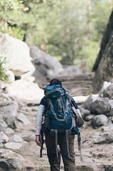 Hiking in Yosemite (sherril8) Tags: nikon hiking yosemite yosemitenationalpark d5100 nikond5100