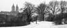 Twin Peaks (CVerwaal) Tags: winter panorama snow centralpark sanremo olympusem5 lumixgvario1235mmf28