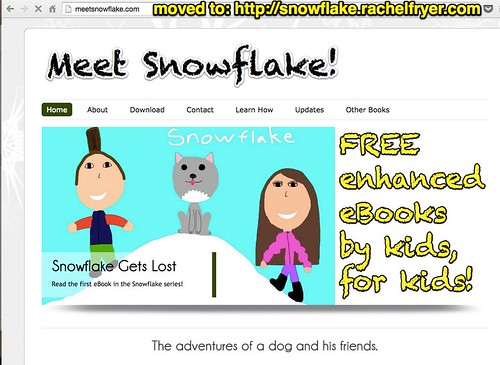 Meet Snowflake! moved to http___snowflak by Wesley Fryer, on Flickr