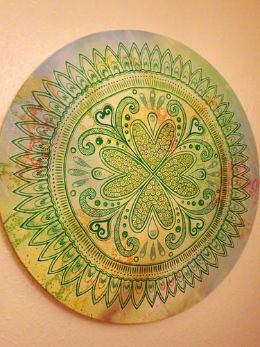 Anahata Mandala 700 mm diameter