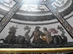 Hermitage State Museum (leonyaakov) Tags: travel art museum architecture stpetersburg russia mosaic paintings palace exhibition hermitage   glasspainting