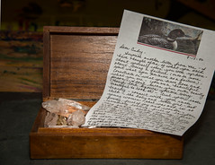 A box of crystals and a letter from my Mother 1996 (www.higbyphotography.com) Tags: love mom crystals mommy mother mama moms letter kindness sweetness maternal devoted matriarch nurturing kindwords motherswords