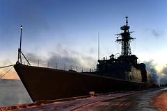 H.M.C.S. Athabaskan (Evan MacPhail Photography) Tags: morning 6 canada cold nova navy destroyer plus scotia hmc dockyard iphone hmcs athabaskan
