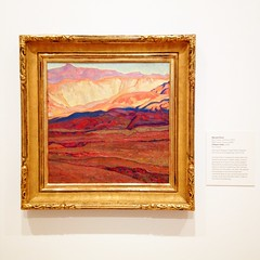 A Desert Valley (ekelly80) Tags: art painting washington tacoma tam maynarddixon tacomaartmuseum january2015 adesertvalley