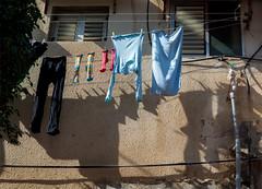 Laundry al fresco (Poupetta) Tags: telaviv balcony laundry