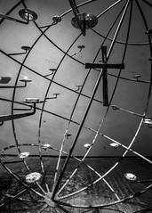 Cross (BenChapmanphoto) Tags: blackandwhite bw art church monochrome lines night canon dark mono cross religion jesus norfolk wideangle diagonal crucifix february fullframe dslr minster stmargarets kingslynn 2015 sigma1735mm284 xpro1 canon5dmkiii