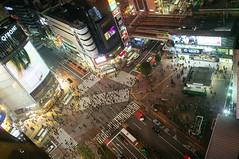 Shibuya crossing! (TM) Tags: road people cars japan japanese amazing cityscape crossing shibuya culture busy zebra shock adverts