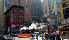New York Steam System (PhotoHenning) Tags: nyc pipes steam vapor retouched