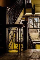 Flight (cvan1978) Tags: abandoned decay cottage stairwell urbanexploration nurses fergusfalls statehospital kirkbride projectkirkbride