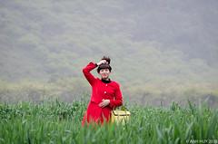 Mc Chu (A n h H u y) Tags: red portrait woman nikon highland mocchau 55300vr d7000 paphach