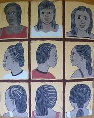 African art hairscuts Botswana (Globe-Trotting.com) Tags: africa travel art southafrica african zimbabwe botswana namibia namibie afriquedusud globetrotting hairscuts