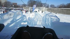 Glissade de Glace at Carnaval de Qubec Canada (RYANISLAND) Tags: carnival winter snow canada france ice french canadian carnaval snowing frenchcanadian carnavaldequbec carnavaldequebec quebecwintercarnival frenchcanada francecanada qubecwintercarnival francecanadian