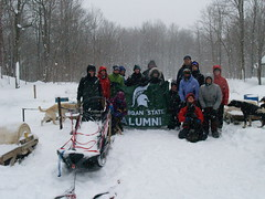Photo representing Dog Sledding Tour, January 2015