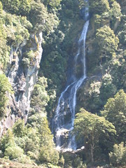 Waterfall in Mt. Aspiring National Park