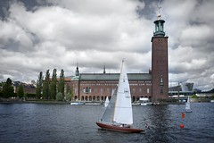 (Bill Thoo) Tags: river sailing sweden stockholm yacht sony ngc townhall alpha900