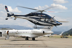 Bell B429, HB-ZAP, Heli Alps (www.il-photography.ch) Tags: alps airport king bell air jet bern flughafen berne rolex heli 6000 global bombardier brn belp bd700 lszb b429 gl6t hbjfe hbzap