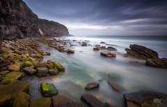 Breaking up (Mike Hankey.) Tags: sunrise landscape focus published north turimetta