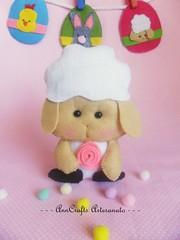 Cordeirinho da Páscoa/Lamb Easter (AnnCrafts Artesanato) Tags: bunny easter pattern egg páscoa lamb pdf feltro coelho decoração ovos moldes coelha cordeirinho bonecasfeltro