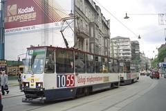 2002-05-12 Gliwice Tramway Nr.461 (beranekp) Tags: tram poland tramway strassenbahn tramvaj tranvia 461 gliwice električka elektrika šalina