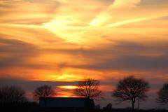 huch, ein Mautpreller (Hans-Jrgen Bckmann) Tags: sunset sonnenuntergang l309 mautpreller