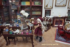 Oops! (cute-little-dolls) Tags: doll maid azone lilfairy picconeemo