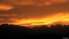 Feu dans le ciel du Vercors (Didier Gozzo) Tags: sky montagne fire ciel vercors feu