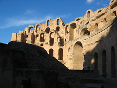 The El Djem Amphitheater Mahdia Tunisia
