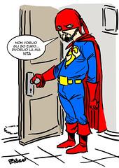 80 euro mini (ilsuperdisoccupato) Tags: italia fumetti bruno satira socialismo larepubblica crisi disoccupazione precariato superdisoccupato