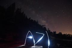 AZ! (JLandau Photography) Tags: tucson arizona casagrande domes smoke mask milkyway longexpo steelwool steel wool night photography orb long exposure portrait stars