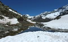 Plan-des-Lettres (bulbocode909) Tags: nature eau suisse bleu neige nuages reflets paysages valais montagnes tangs plandeslettres