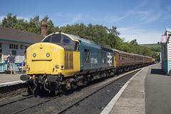 37264 (MitchellTurnbull) Tags: photography nikon diesel yorkshire north july rail railway class moors locomotive preserved 37 16th preservation grosmont nymr 2016 d3200 37264