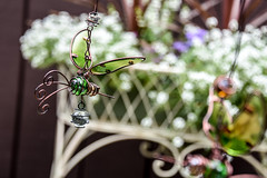 still bzzzing... (Dotsy McCurly) Tags: buzz buzzing bzzz dragonfly dragonflies yard art stained glass flowers plants nature beautiful nikon d750 dof bokeh nj