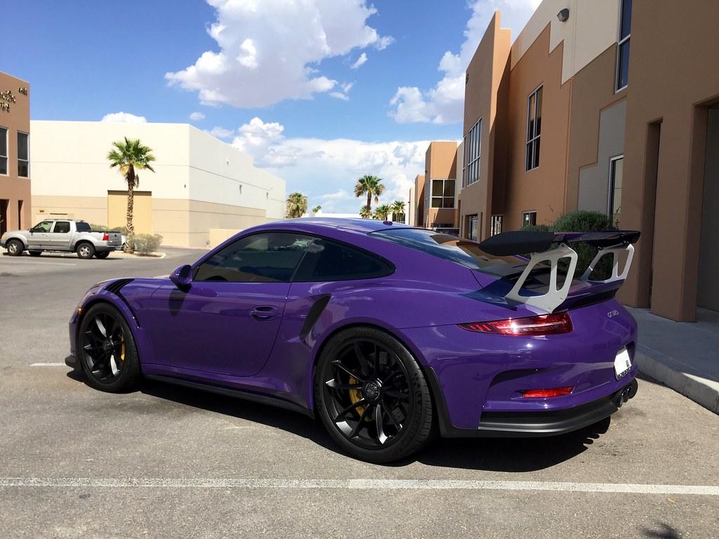 2016 Porsche Gt3rs Ceramic Window Tint