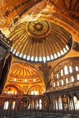 Hagia Sophia (C McCann) Tags: building turkey temple arch cathedral turkiye indoor istanbul mosque sophia hagia