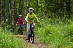 maastopyoraretkella (VisitLakeland) Tags: mountain girl bike bicycle forest koivu helmet mtb mets tahko tahkovuori lapsi tytt kypr maasto maastopyrily maastopyr kuopiotahko tahkokids