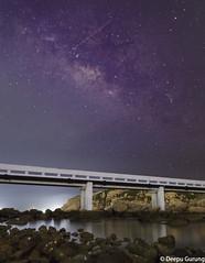 Home (deepucfc06) Tags: milkyway milkywaygalaxy nature stardust stars longexposure hk hongkong seashore bridge canon canon5dmarkii stargazing