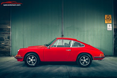 Porsche 912 RED (spotandshoot.com) Tags: 912 australia photography porsche southaustralia auto automotive carsofadelaide industrial sportscar vintage adelaide sa