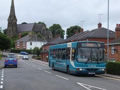 Arriva 2739 Winshill (Guy Arab UF) Tags: bus church buses trent wright upon burton cadet midlands 2739 runcorn daf selwyn arriva sb120 winshill x783nwx