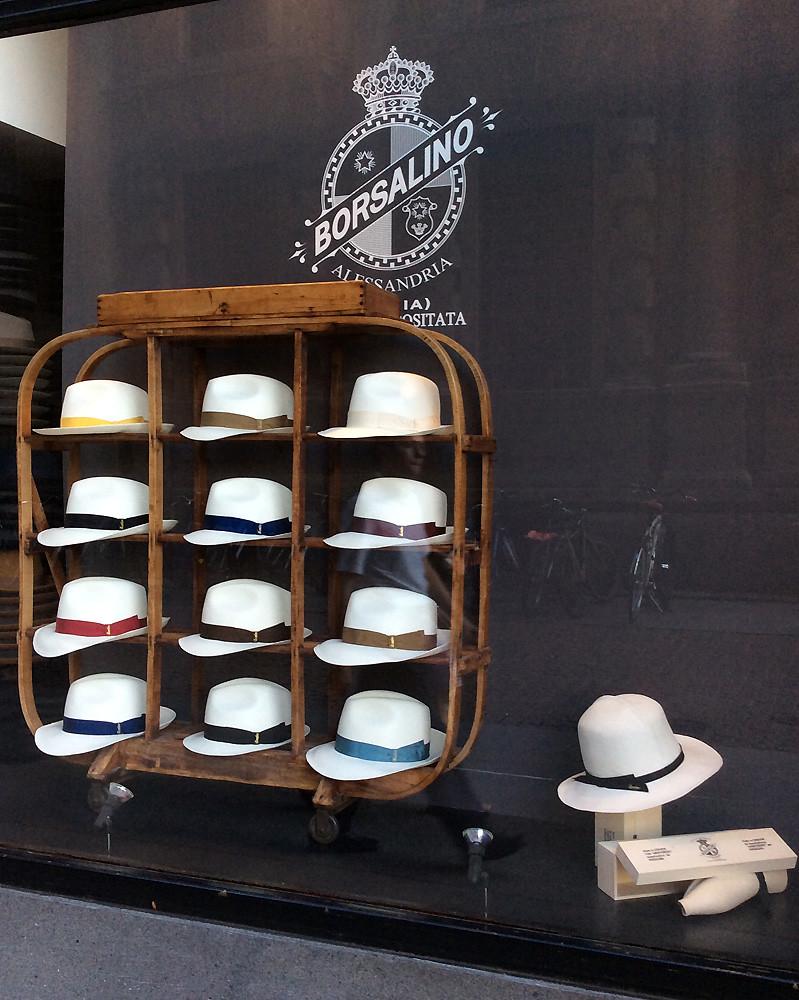 ac6a6a1e7ef91 Borsalino (a marga) Tags  milan milano italia italy borsalino tienda shop  flagship store sombreros